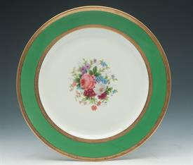 ",C. AHRENFELDT LIMOGES HAND PAINTED ARTIST SIGNED 10"" PLATE"