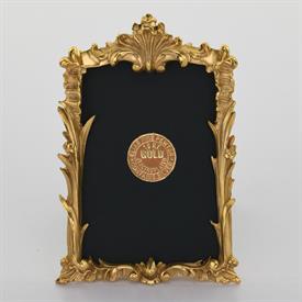 """-1671G GOLD CARVED REEDS FRAME, 2X3"""""""