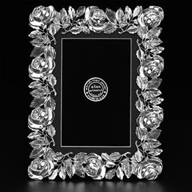 "_,3449 ROSE 5X7"" FRAME IN SILVER FINISH"