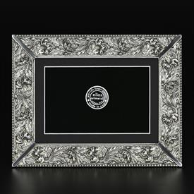 "_,3447 GARDEN FLOWERS 5X7"" FRAME IN SILVER FINISH"