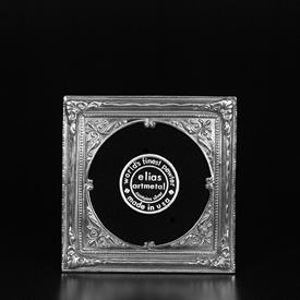 "_,1888 AMERICAN CIRCLE IN A SQUARE FRAME. 2.8"" ROUND."