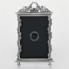 "_,1780 'LOUIS XIII RECTANGLE' 2.5X3.8"" FRAME IN SILVER FINISH"