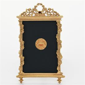 "-,1780G 2.5"" X 3.8"" LOUIS XIII FRAME IN GOLD"