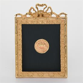 -,1819G GOLD SCROLLING RIBBON FRAME.