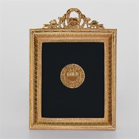 """-,1828G GOLD MINI-PORTRAIT FRAME, 2X2.5"""""""