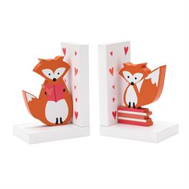 _SET OF 2 FOX BOOKENDS