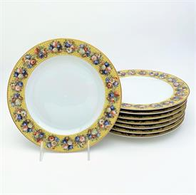 ,1948-1963 EB FOLEY TEA CUP & SAUCER IN GREEN & FLORAL PATTERN. HAND PAINTED. STYLE V2190.