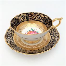 ,FOLEY PINK TEA CUP & SAUCER 3223. CA. 1948-1963