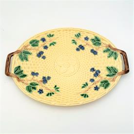 ,RARE AYNSLEY COBALT BLUE TEA CUP & SAUCER WITH PINK WILD ROSES INSIDE. STYLE #2468. CA. 1939