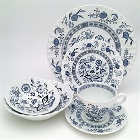 ,MEAKIN J&G 'BLUE NORDIC' 25PCS 4 DINNER, 4 SALAD, 4 CEREAL, 4 FRUIT, 4 CUP/SAUCER, 1 COFFEE POT