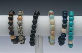 ",_""BIRD BRACELET"". ASSORTED STYLES, NATURAL STONE."