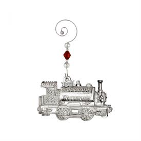 _2016 ANNUAL TRAIN CRYSTAL ORNAMENT MARKED DOWN 11-25-16