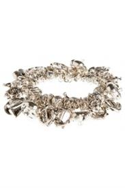 -NAUTICAL CHARM BRACELET IN SILVER