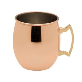 _,PLAIN COPPER PLATED MOSCOW MULE MUG