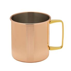 _,COPPER PLATED MUG