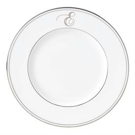 "-'E' IN SCRIPT, 9.4"" ACCENT PLATE"