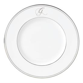 "-'G' IN SCRIPT, 9.4"" ACCENT PLATE"