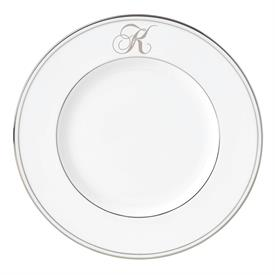 "-'K' IN SCRIPT. 9.4"" ACCENT PLATE"