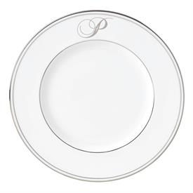 "-'P' IN SCRIPT, 9.4"" ACCENT PLATE"