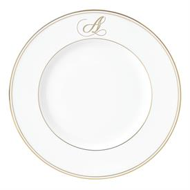 "-,'A' IN SCRIPT, 9.4"" ACCENT PLATE"