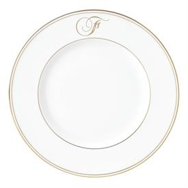 "-,'F' IN SCRIPT, 9.4"" ACCENT PLATE"