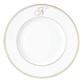 "-'N' IN SCRIPT, 9.4"" ACCENT PLATE"