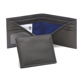 ,-WALLET MADE OF AUTHENTIC GAME USED TAMPA BAY LIGHTNING JERSEY AS THE BILLFOLD DIVIDER. OFFICIALLY LICENCED BY THE NHL, W/ CERT. OF AUTH.