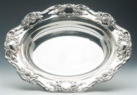 "OLD MASTER VEGETABLE BOWL 13"" X 10"" SILVER PLATED BY TOWLE"
