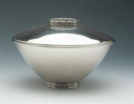 COVERED FRUIT BOWL SILVER PLATED
