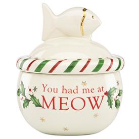 -CAT TREAT JAR, YOU HAD ME AT MEOW. MSRP $60.00