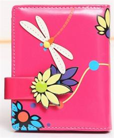 -PINK DRAGONFLY WALLET