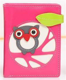 -PINK OWL WALLET