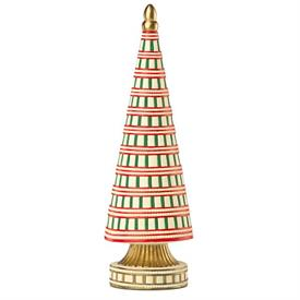 "-LARGE CANDY CANE CHRISTMAS TREE FIGURINE. 13.75"" TALL. MSRP $260.00"
