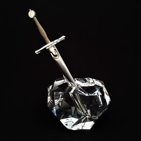 ",'EXCALIBUR' SWORD & STONE. WITH ORIGINAL BOX & POUCHES. 8.25"" X 5"" X 3.25"""