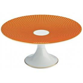 "-6.3"" PETIT FOUR STAND, ORANGE"