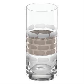 ",_MICHAEL WAINWRIGHT 'TRURO' PLATINUM HIGHBALL GLASS. 6.5"" TALL. MSRP $40.00"