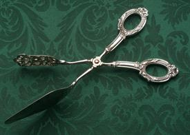 """,ANCESTRY BY WEB STERLING PASTRY TONGS 9.5"""" LONG"""
