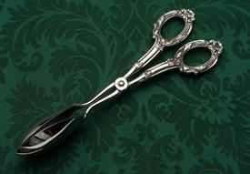 """WEB STERLING HANDLED PASTRY OR FRUIT TONGS 8.75"""" LONG"""