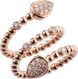 _18K ROSE GOLD DIAMOND RING WAS: $2999