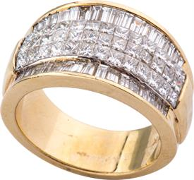 _18K YELLOW GOLD 2.50 CARAT DIAMOND RING WAS: $4899