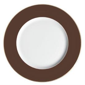 ",_BROWN CHARGER PLATE. 12"" WIDE. MSRP $125.00"