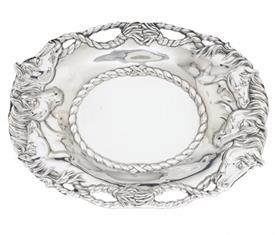 """-HORSE & ROPE OVAL TRAY. 14"""" LONG, 10"""" WIDE"""
