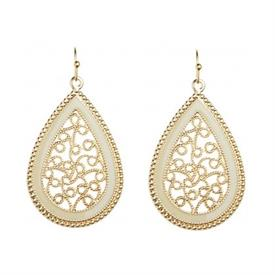 _E564WH 6.95 BIN EARRINGS, PROMO