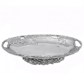 """-FOOTED SIDE DISH. 11"""" LONG, 7.5"""" WIDE, 2.5"""" TALL"""
