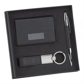 _GLENDALE 3 PIECE PEN, CARD CASE, & KEY CHAIN GIFT SET