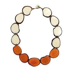 -SANTA CRUZ NARANJA & IVORY NECKLACE