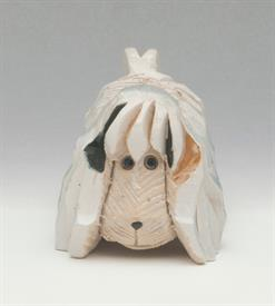 "SPANIEL DOG #120, RETIRED. 2.25"" TALL, 3.5"" LONG, 2.25"" WIDE"