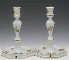 """,PAIR OF 7"""" CANDLESTICK PAIR #7917/VR. FACTORY DRILLED WITH WIRE HOLE."""