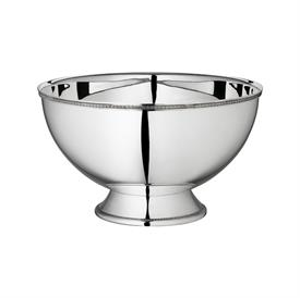 -PUNCH BOWL. SILVER PLATED. 41 CM WIDE, 25 CM TALL.