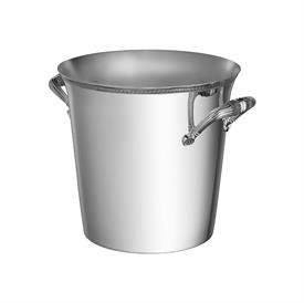 -2-BOTTLE CHAMPAGNE COOLER BUCKET. SILVER PLATED.